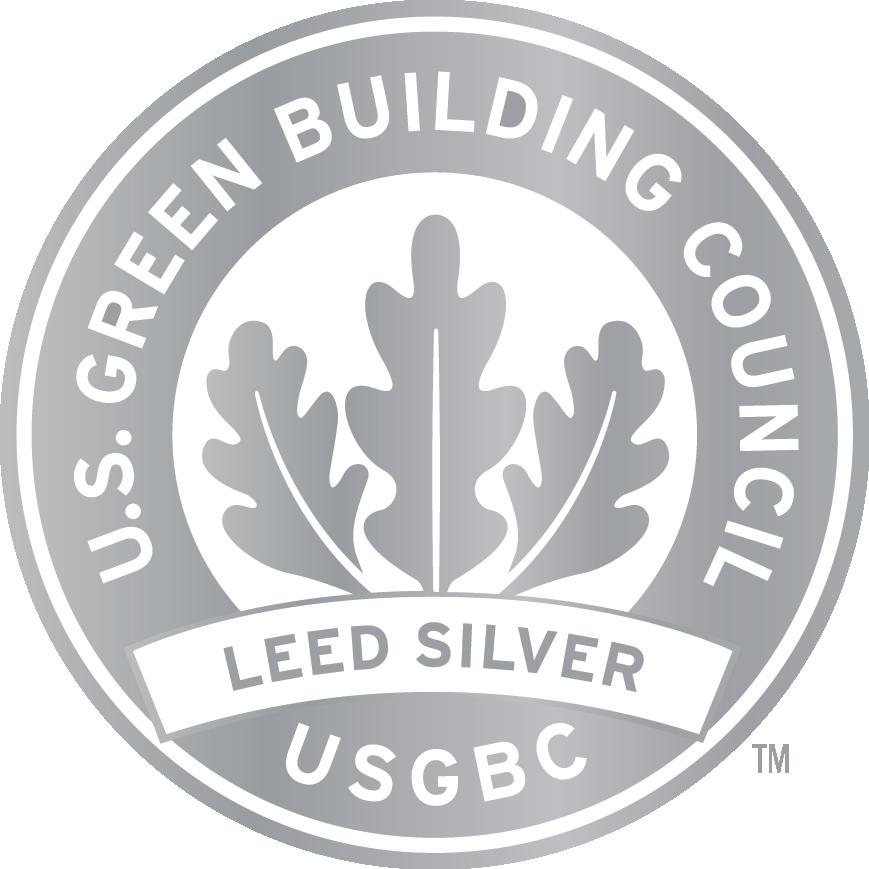 Silver LEED Logo
